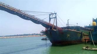 越界金門陸船銷毀 海委會:3方研議解決