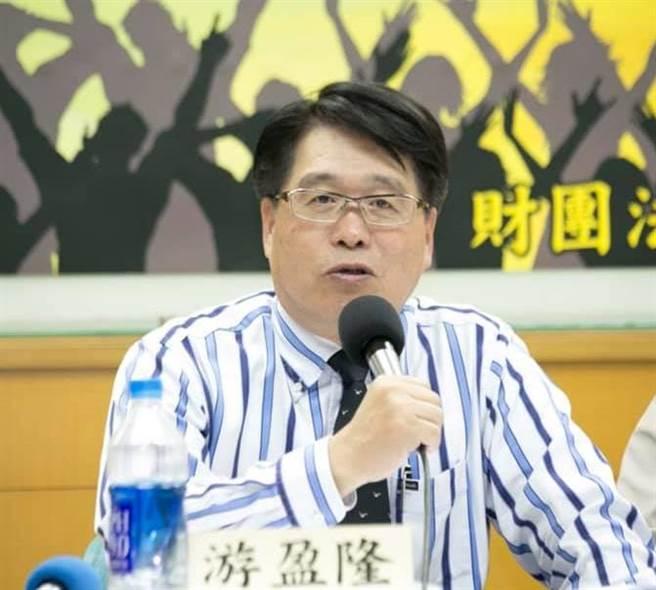 台灣民意基金會董事長游盈隆,分析司改會國民法官參審制民調。(圖/翻攝自 游盈隆 臉書)