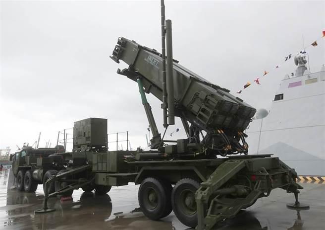 「愛國者3型」防空飛彈發射車。(圖/本報資料照)