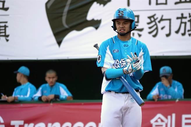 谷保家商何恒佑是去年U18世界杯成员,今年挑战中职。(中央社资料照)