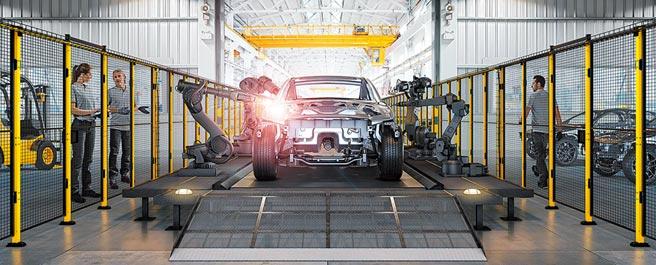 瑞典Axelent X-Guard機械安全圍籬,係自動化設備的重要工安防護之一。圖/業者提供