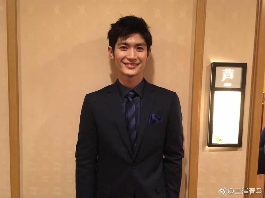 已故日本演員三浦春馬。(摘自微博)