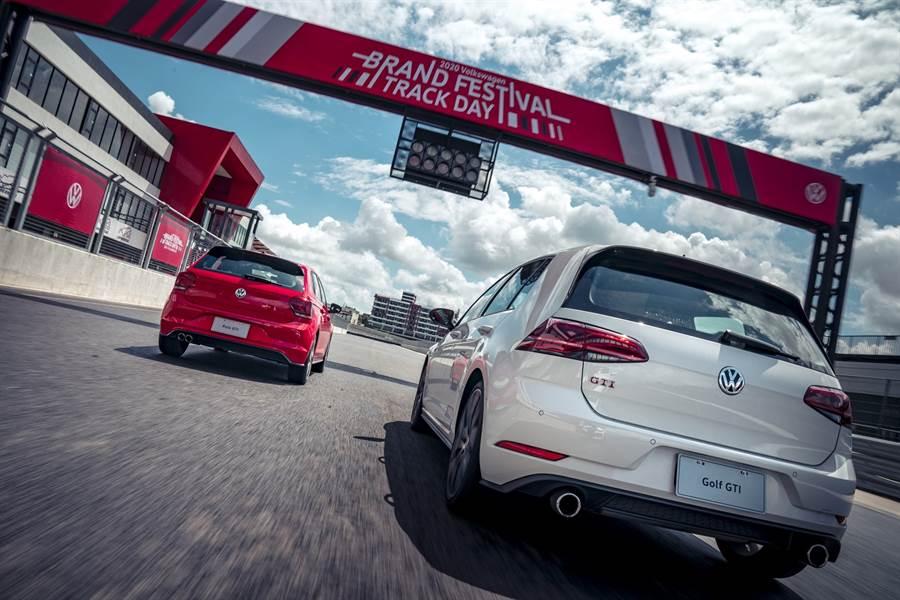 Volkswagen Brand Festival福斯人熱情參與暢快體驗賽道奔馳