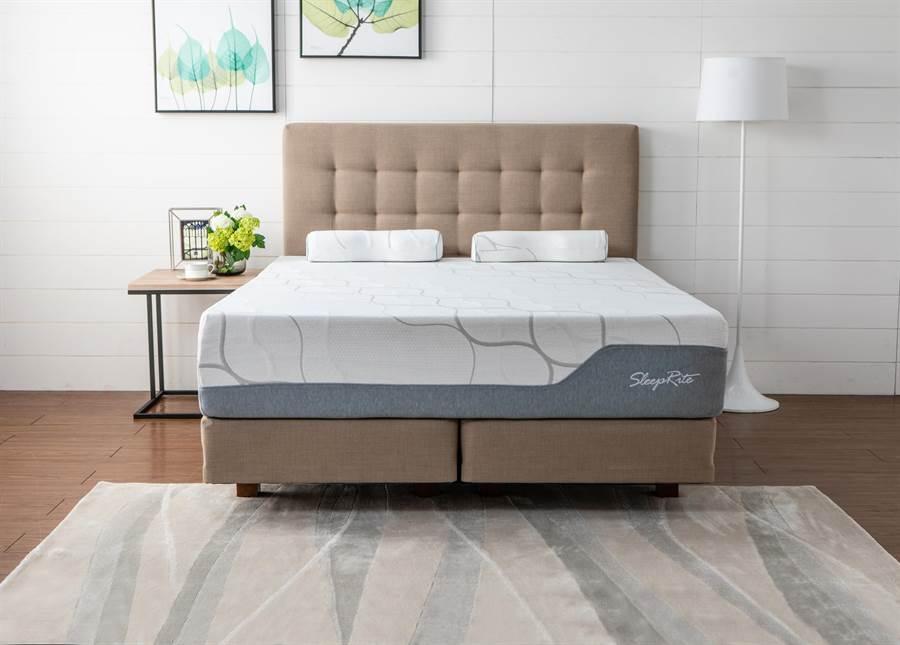 SleepRite捲床上墊,價格店洽。(HOLA提供)