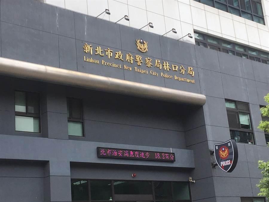 泰山區驚傳24歲張姓男子疑酒後與妻爭吵,墜樓後送醫仍宣告不治。(賴彥竹攝)