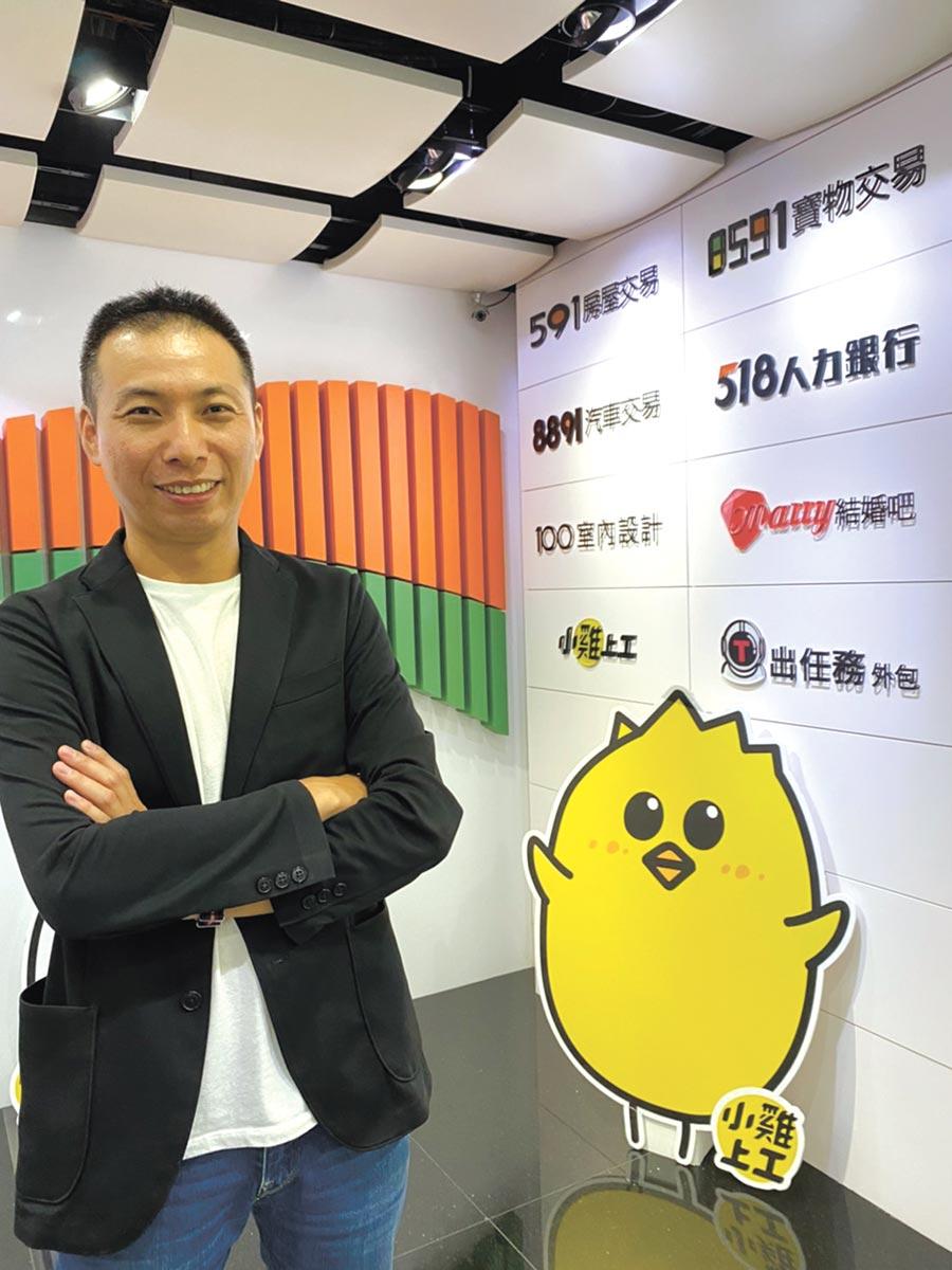 數字科技副總經理邱建銘表示,今年下半年新站台將啟動收費,為營運添動能。圖/劉季清