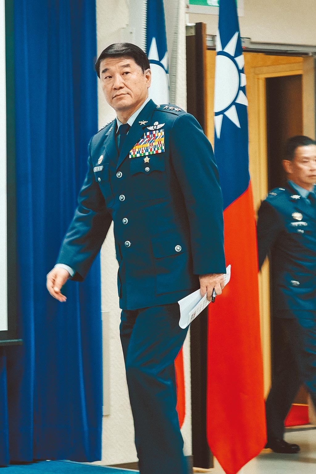 愛三軍售案竟連空軍司令熊厚基也不知情。(本報資料照片)