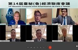 臺秘(魯)經濟聯席會議 探討防疫產業商機