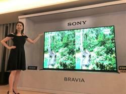 Sony21日發表新品 搶攻台灣大尺寸及8K市場