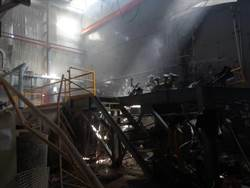 彰濱線西區化學公司實驗室氣爆 傷及2男員工