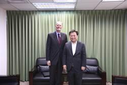 AIT處長酈英傑拜訪民進黨讚台灣防疫