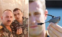敘利亞軍方捕獲美軍「黑黃蜂」間諜無人機
