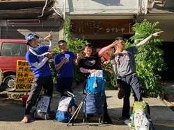 用雙腳閱讀台灣!與自然對話 4人37天923公里環島壯舉