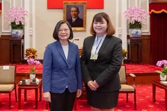 致理科大「傑青獎」學生  獲總統接見