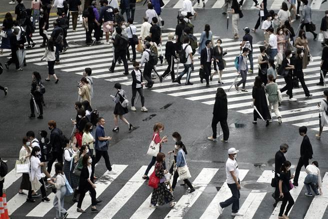 东京涩谷街头。(美联社)