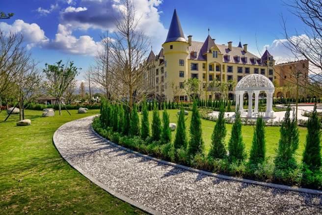花蓮瑞穗天合國際觀光酒店的綠景公園。圖/花蓮瑞穗天合國際觀光酒店提供