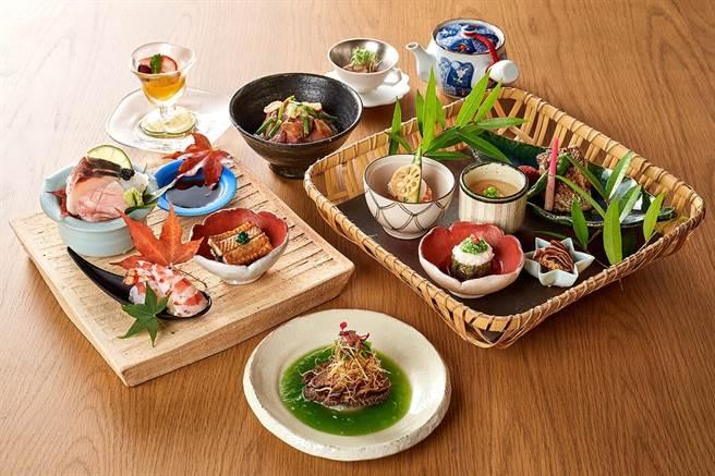 台北美福大飯店館內的晴山日本料理推出「料理長特別推薦套餐」。圖/台北美福大飯店提供
