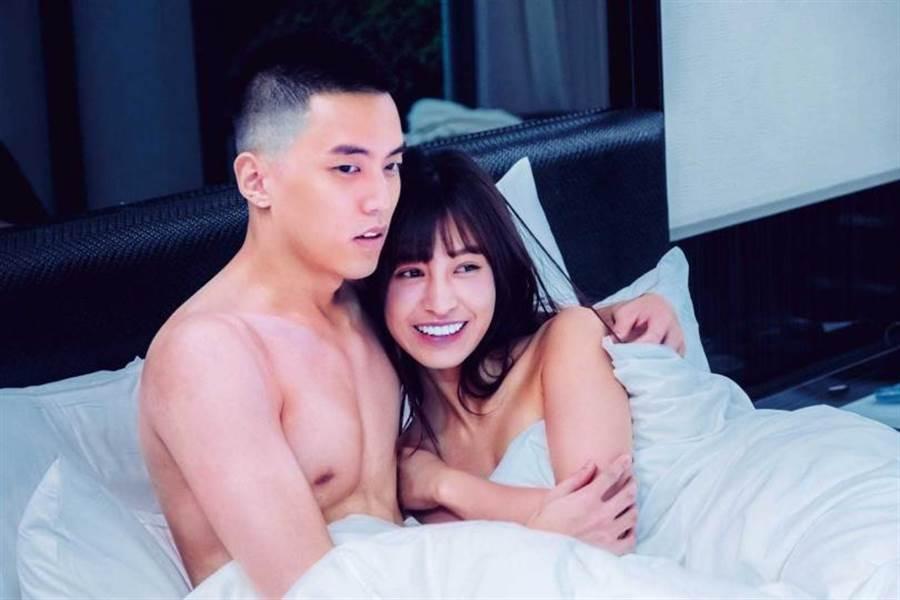 近期陳敬宣演出三立新戲《我的青春沒在怕》,與徐謀俊有火辣床戲。(圖/三立提供)