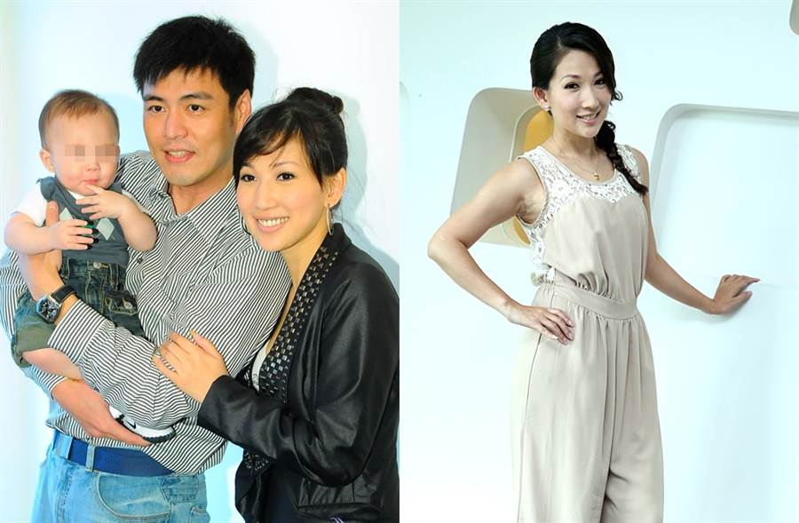 林子瑄9年前和劉至翰離婚。(圖/中時資料照片)