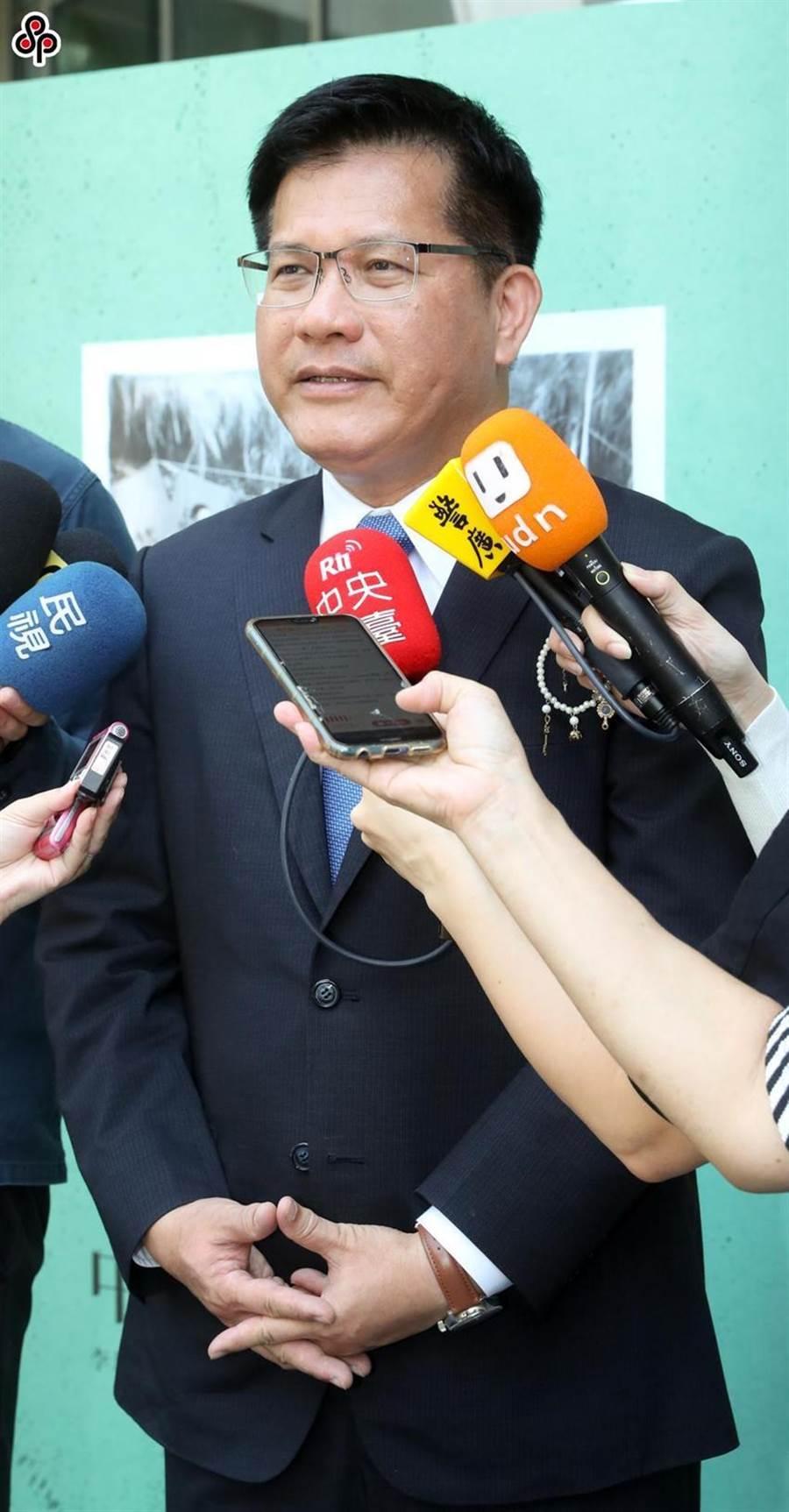 圖為交通部長林佳龍。(圖/本報系資料照)