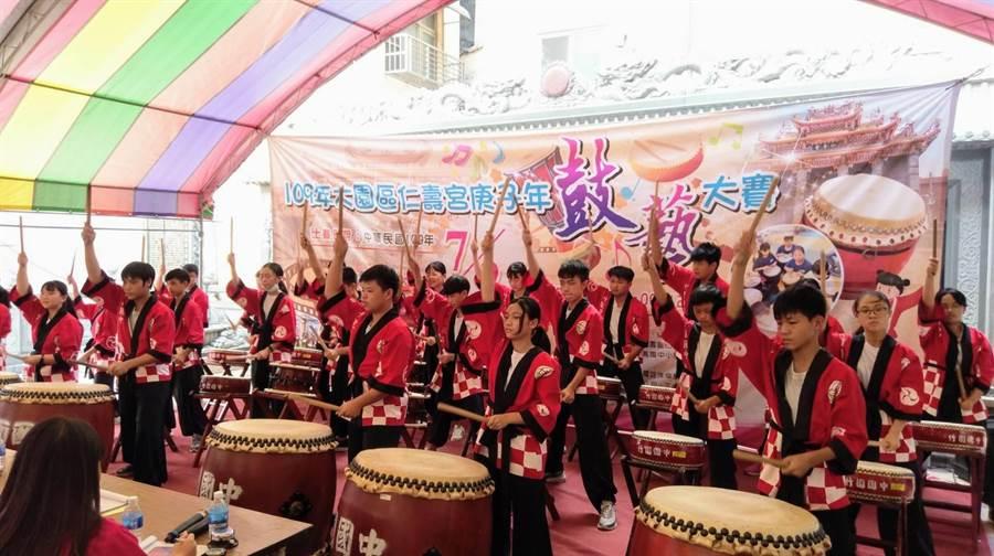 桃園市 ▲大園分局提倡「學音樂的孩子不會變壞」的理念,鼓勵青少年學習音樂、陶冶性情。(大園分局提供/姜霏傳真)