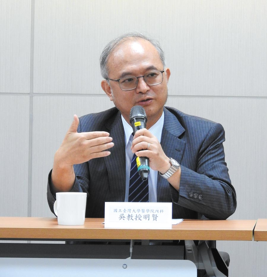 台大醫學院內科特聘教授吳明賢。(科技部提供)