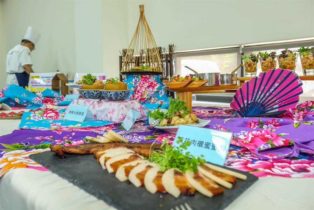 新埔水梨節25日登場,將有4場水梨料理食農教育教學,讓民眾學習用水梨製作各種料理。(羅浚濱攝)