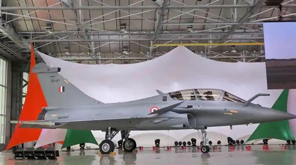 印度催促法国赶快交付飙风战机,以便及早部署在拉达克。(图/印度空军)