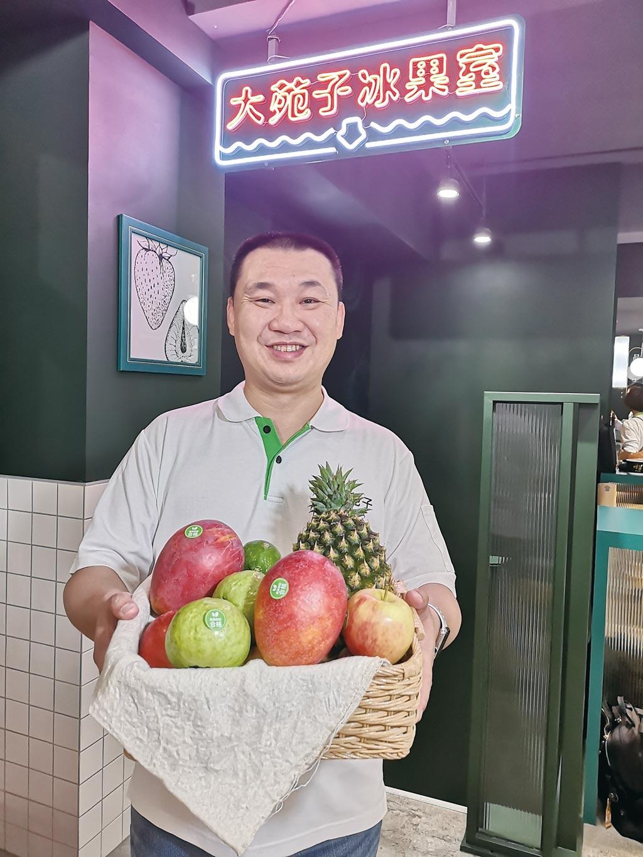 大苑子總經理邱瑞堂表示,新店意味品牌進化決心。圖/姚舜