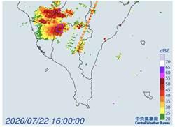 高屏嚴防雷雨 持續時間至16時30分