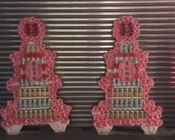友人熱情送「罐頭塔」祝福壽星 快樂生日秒變最後的祝福