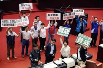 國民法官法三讀 游盈隆:民主被糟蹋 可恥的一天!