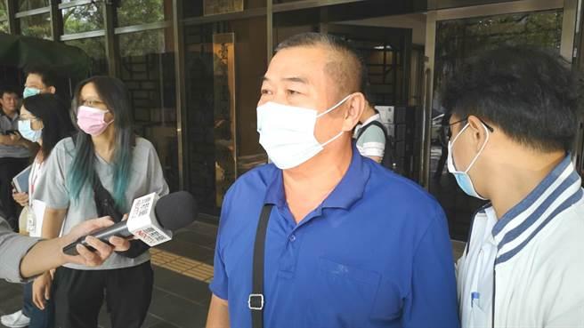 新店隨機殺人案今開庭,死者父親認為兇嫌王秉華外觀舉止正常,沒有鑑定必要。(黃捷攝)