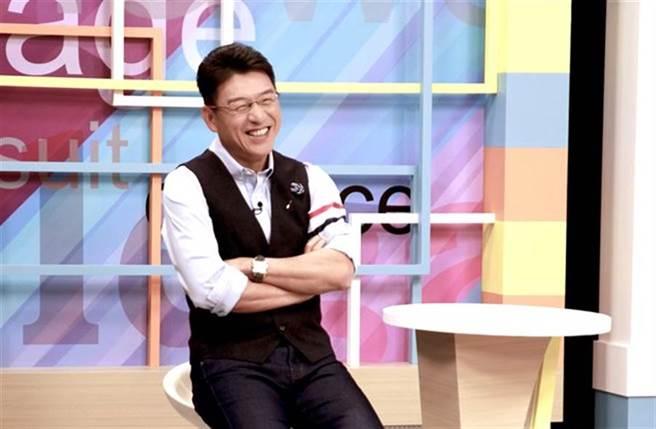 謝震武去年被曝是政論節目價碼最高主持人,一集6萬。(本報系資料照)