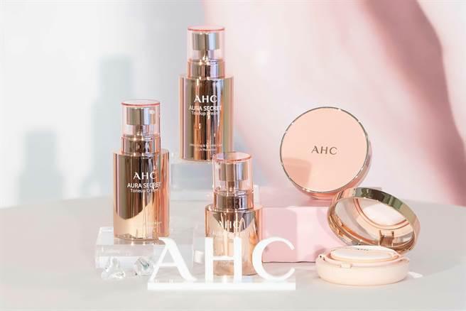 韓國保養AHC新品發表會。(AHC提供)