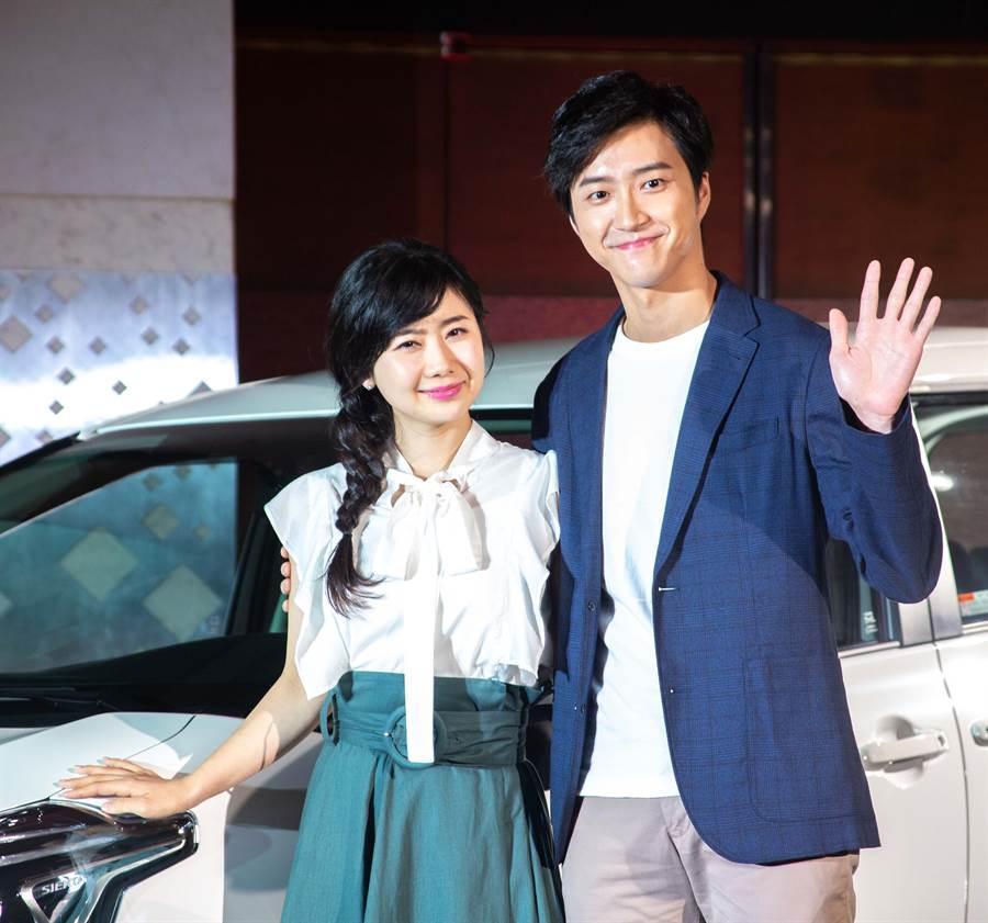 福原愛和江宏傑是著名的模範夫妻檔,小倆口結婚4年依舊超恩愛。(圖/本報系資料照片)