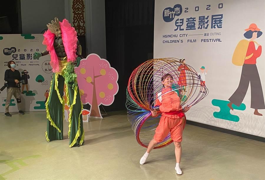 「2020新竹市兒童影展」將於下周末登場,影展為期1個月,每周6天、每天3場,總計播放73場次,今天中午起開始購票。(陳育賢攝)