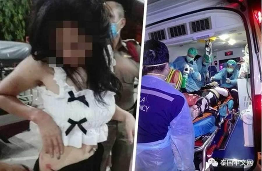 泰國曼谷一名女子與陌生男約砲車震卻慘遭性虐,男友想救她爬上車頂,卻慘遭拋飛墜地死亡。(照片來源:泰國中文網)