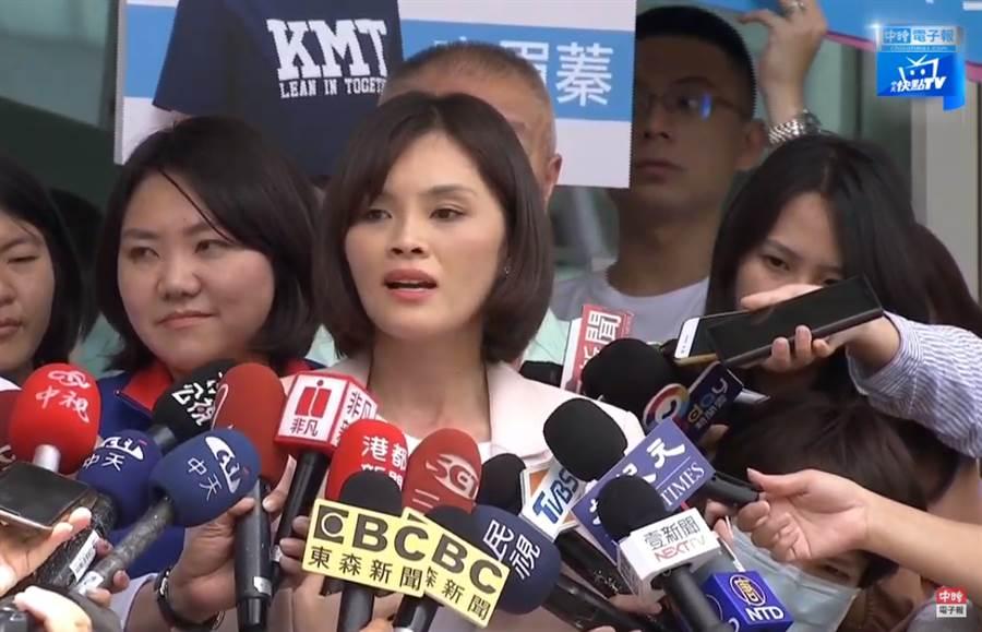 國民黨高雄市長補選候選人李眉蓁。(圖/本報資料照)