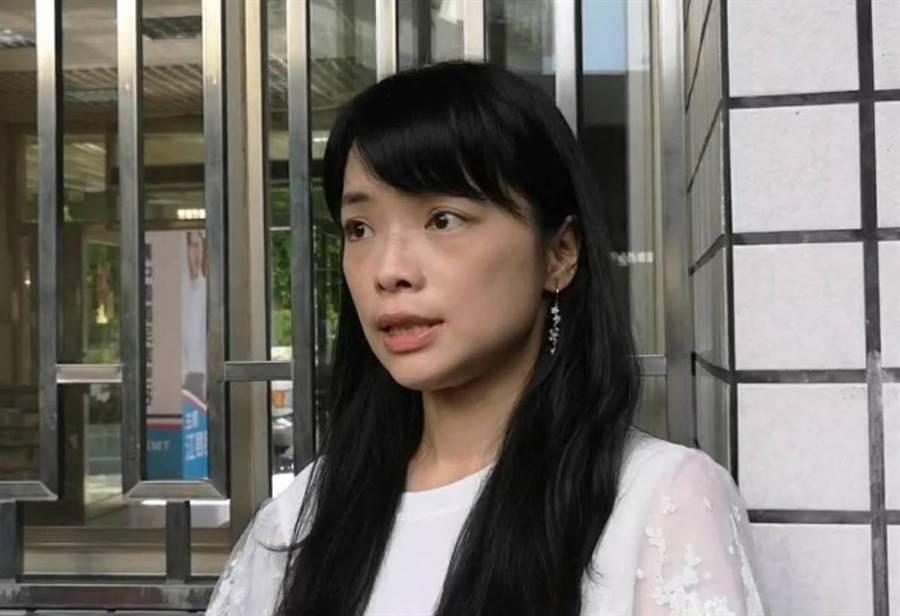 國民黨發言人盧宸緯表示,尊重中山大學調查結果。(吳敏菁攝)