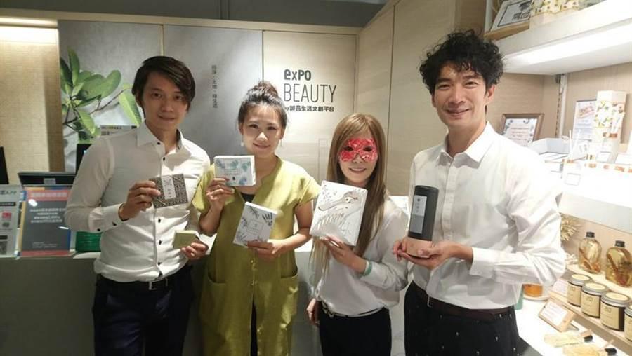 (「expo BEAUTY」進駐台中勤美綠園道,一口氣引進52個台灣優質品牌!圖/曾麗芳)