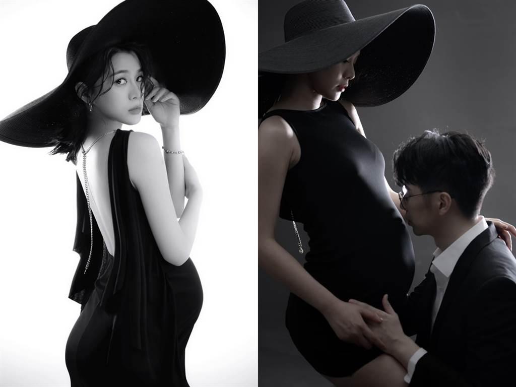 王思平拍了另一組個性風格的寫真。(圖/FB@jenna wang 王思平)