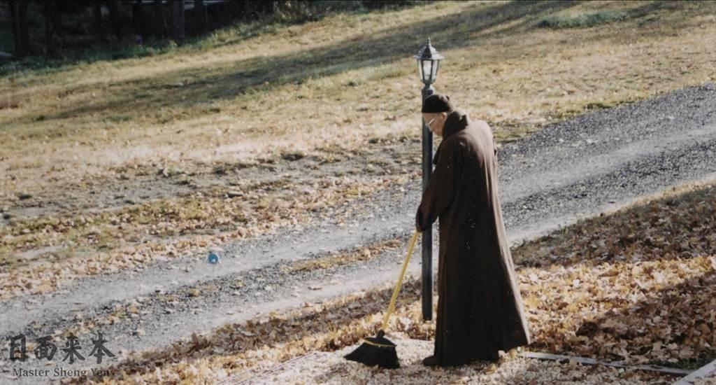 《本來面目》歷時2年製作,如實回顧聖嚴法師一生與佛法的緣起與生命的實踐。(牽猴子提供)