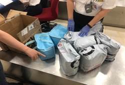 非法禽流感疫苗裝乳液瓶欲闖關 海巡機場攔截5000CC