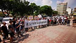 百攤商抗議公所強行改建 公所:僅計畫將保留