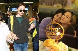 王菲現身髮廊染髮 14歲李嫣等母邊喝紅酒...網驚「太成熟了」