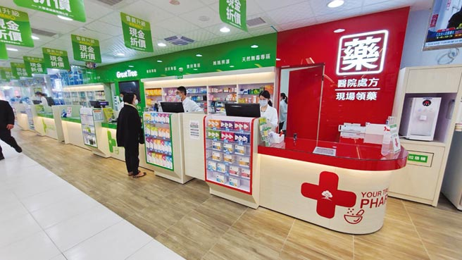 大樹藥局位於桃園市占地達200坪的新零售概念店。圖/業者提供