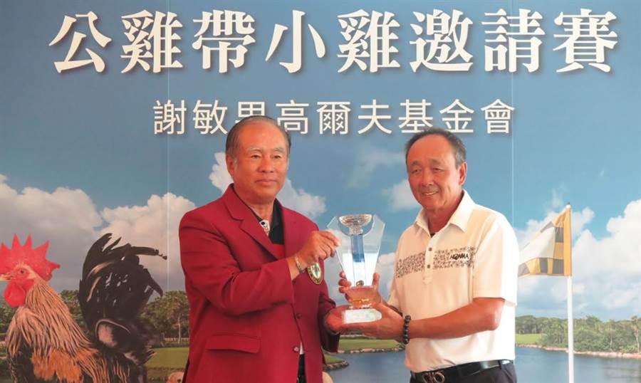 陳志明超級長春組勇奪三連霸,並獲同齡同桿獎。
