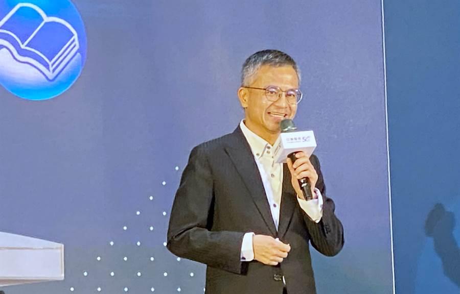 中華電信總經理郭水義。(黃慧雯攝)