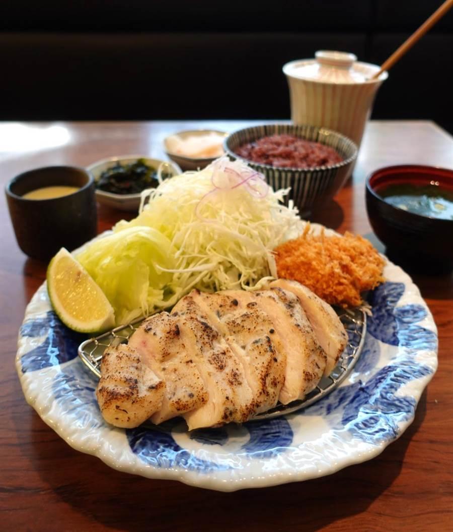 六角旗下銀座杏子豬排「健康5 GO力」套餐7月27日開賣。(六角提供)